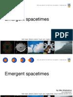 Silke Weinfurtner- Emergent spacetimes