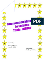 Intervention Materials