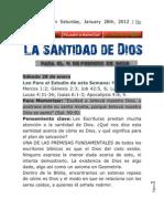 Leccion de Escuela Sabatica Para El 04 02 12