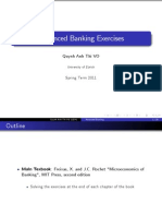 Advanced Banking Exercises Introduction