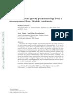 Stefano Liberati, Matt Visser and Silke Weinfurtner- Analogue quantum gravity phenomenology from a two-component Bose–Einstein condensate