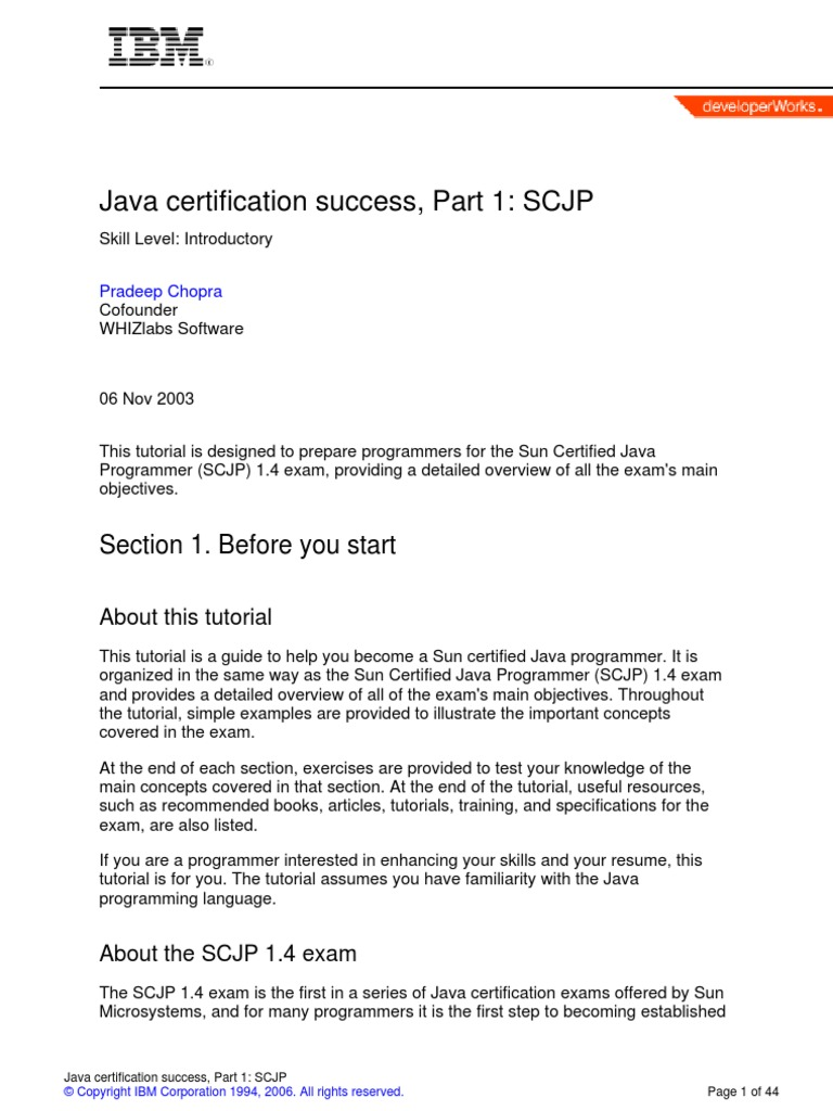 Java scjp tutorial image collections any tutorial examples java scjp tutorial image collections any tutorial examples java certification java scjp class computer programming java baditri Gallery