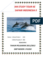 Laporan Study Tour Ke Taman Safari Indonesia Ll