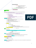 Crim Pro Exam Sheet at a Glance.