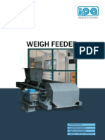 Weight Feeders Specpecation
