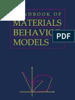 Materials Behaviour