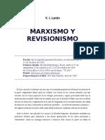 V.I. Lenin - Marxismo y Revisionismo