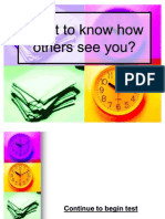 How Others See You