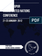 Historic General Assembly Study Guide - IIT KGP MUN 2012