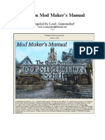 Oblivion Mod Maker Manual v1.4