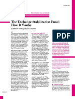 The Exchange Stabilization Fund - How It Works (Federal Reserve Bank of Cleveland, December 1999)