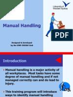 Manual Handling Presentation Handout