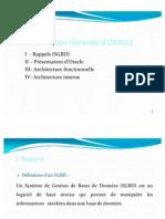 Chap1 Présentation Générale de ORACLE