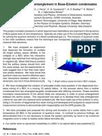 M. J. Davis et al- Quantum noise and entanglement in Bose-Einstein condensates
