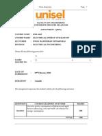 EEU Assignment KKS 4143