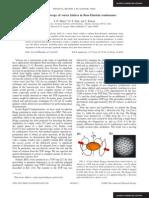 S. R. Muniz, D. S. Naik and C. Raman- Bragg spectroscopy of vortex lattices in Bose-Einstein condensates