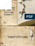Documents of the II Vatican Council ...