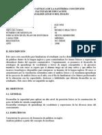 Lexical Analysis 2008