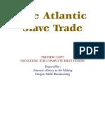 Atlantic Slave Trade LOne