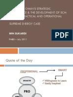 The SC's Strategic Importance & STO - Supreme Energy Case