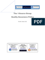 Quality Assurance Policy - www.1sourcecomponents.com