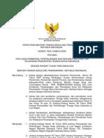 PERMEN 10 Thn 2009 Tentang Tata Cara Pemberian Perpanjangan Dan Pencabutan Surat Izin PPTKIS