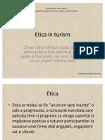 Etica in Turism
