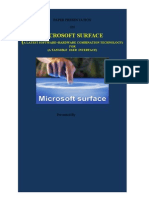 Latest Microsoft Surface Abstract