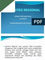 Anestesi Regional Power Point