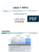 CCNA Exp2 - Chapter07 - RIPv2
