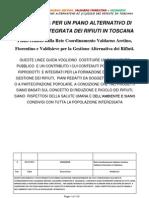 Linee Guida Per Un Piano Alternativo Di (Ri)Ciclo Dei Rifiuti in Toscana (R6)