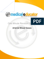 010 Arterial Blood Gases One Minute Guide