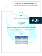 Software Architecture DivD Skype