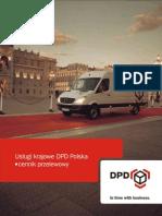 Uslugi Krajowe DPD Polska Cennik Przelewowy 01-06-2008r