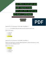CS507 FINAL TERM PAPERS VU Quiz3 by Soban