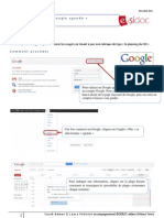 Insertion d'un Google agenda dans e-sidoc