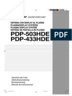 Pdp-503hde Manual Nl It Es Se