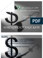 Foreign Exchange Rate Report Final