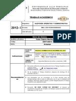TA-2012-1 Auditoria Operativa y Administrativa
