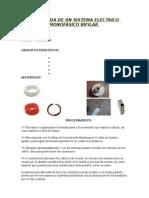 ACOMETIDA DE UN SISTEMA ELECTRICO MONOFASICO BIFILAR