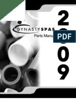 Parts Manual 2009-8MB