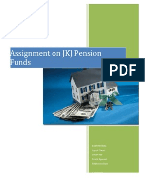 JKJ Pension Funds Assignment | Discounted Cash Flow | Investing