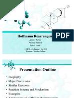 Hoffmann Rearrangement