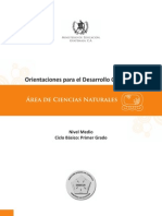 5. ODEC (Primero básico) CCNN nena