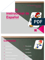Modulo instucional de español