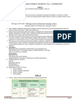 EE1451-RENEWABLE ENERGY SOURCES-SET-1-ANSWER KEY