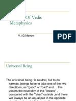 Essence of Vedic Metaphysics