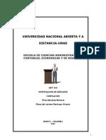 Mendoza Barbosa Oliva - Investigacion de Mercados