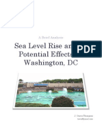 Sea Level Rise and Its Potential Effects on Washington, DC