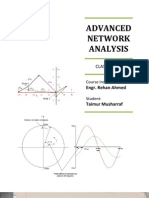 Advanced Network Analysis